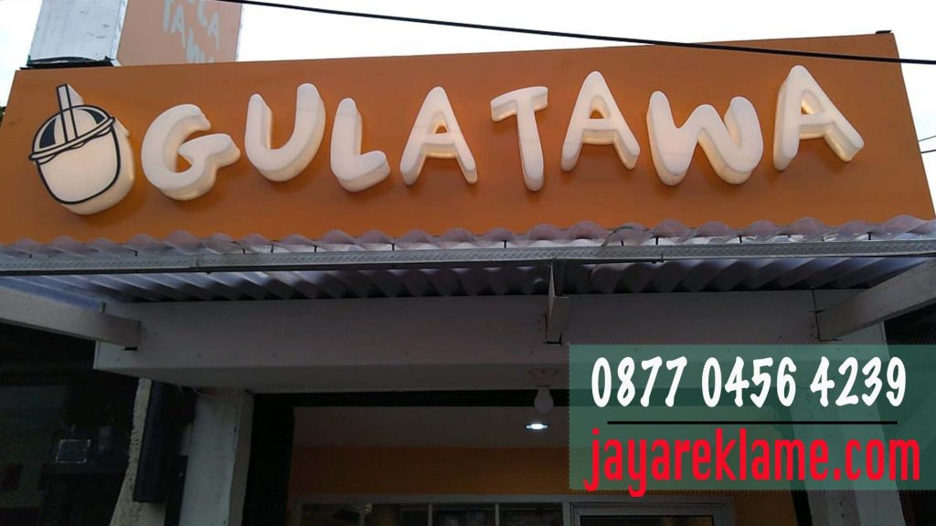pasang Papan Nama Murah - 0877 0456 4239